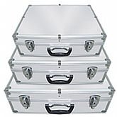 Jogo com 3 Maletas em Alumínio para Ferramentas  - NOLL-630004