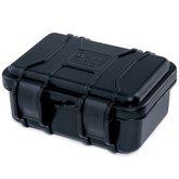 Mala/Case em Termoplástico Preta para Uso Geral 64 x 130 x 160mm