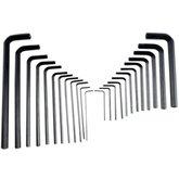 Conjunto de Chaves Hexagonais Longas e Curtas com 25 Peças - IRWIN-10761