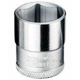 Soquete Sextavado 6mm com Encaixe de 3/8 Pol. - GEDORE-14001