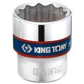 Soquete Estriado 19mm com Encaixe de 3/8 Pol. - KINGTONY-333019M