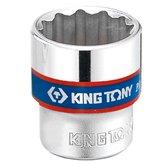 Soquete Estriado 9mm com Encaixe de 3/8 Pol. - KINGTONY-333009M