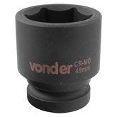 Soquete Sextavado de Impacto Encaixe 1 Pol. 46 mm Aço Cromo Molibdênio