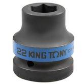 Soquete Sextavado de Impacto 22 mm com Encaixe de 1 Pol - KINGTONY-853522