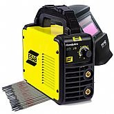 Kit Máquina de Solda Esab 0734001  + Máscara de Solda FortG Pro FG4100 + 3 x Eletrodos Titanium 4870 - ESAB-K194