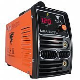 Máquina Inversora de Solda MMA 240BM 140A 220V Monofásico