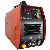 Máquina Inversora de Solda TIG/MMA-200 160/140A 220V Monofásico