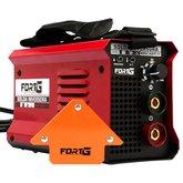 Kit Máquina de Solda Inversora MMA140iP 140A 220V Fortg Pro FG4513 + Esquadro Magnético 12Kg