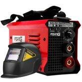 Kit Máquina de Solda Inversora MMA170iP FORTGPRO-FG4514 170A Bivolt + Máscara de Solda LYNUS-MSL-350F