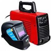 Kit Máquina de Solda FORTGPRO FG4131 MMA140i e TIG Lift Inversora Multifuncional DC + Máscara de Solda Tonalidade 11 Automática