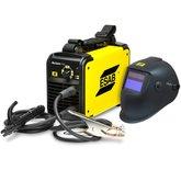 Kit Máquina Inversora de Solda ESAB BANTAM145i 145A Bivolt -  + Máscara para Solda ESAB-0735373 A20