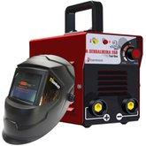 Kit Fonte Inversora de Solda BAMBOZZI-39504 250 Bivolt + Máscara de Solda Automática Tonalidade 11 Fixa