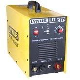 Inversor de Solda MMA + TIG + Corte Plasma  - LYNUS-LIT-416