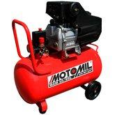 Motocompressor de Ar 8.8 Pés 50 Litros  - MOTOMIL-MAN-10/50L