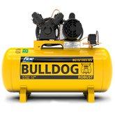Compressor de Ar Bulldog 2HP 10 Pés 100 Litros Monofásico 110/220V - FIAC-BG10100VM