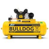 Compressor de Ar Bulldog 5HP 20 Pés 200 Litros Trifásico 220/380V
