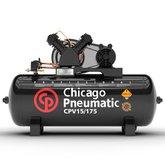 Compressor de Pistão 3HP 15 Pés 175 Litros 110/220V Monofásico - CHICAGO-8969010001