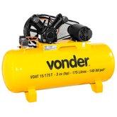 Compressor de Ar VDAT 3CV 15 Pés 175 Litros Trifásico 220/380V - VONDER-68.29.615.133