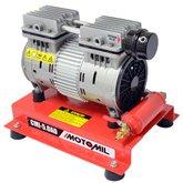Compressor de Ar Direto 5 Pés 50 Litros Monofásico 4 Polos  Isento de Óleo - MOTOMIL-CMI50/AD
