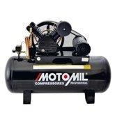 Compressor de Ar 5HP 25 Pés 250 Litros 220/380V Trifásico