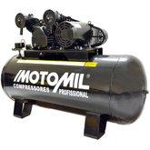 Compressor de Ar Industrial 25 Pés 200L 140Lbs 220/380V Trifásico - MOTOMIL- CMV-25/200