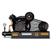 Compressor De Ar Alta Pressão Sobre Base CJ15 + APV 15 Pés 3HP 2P 175PSI 220/380V Trifásico