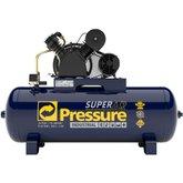 Compressor de Ar 20 Pés 175 PSI 200 Litros Monofásico 220/440V