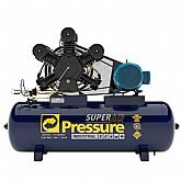 Compressor de Ar 80 Pés 175 PSI 425 Litros Trifásico IP55 380/660V