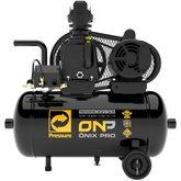 Compressor de Ar 7,6 Pés 120 PSI 28 Litros Monofásico 110/220V