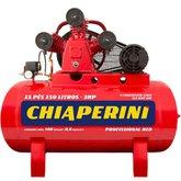 Compressor de Ar Média Pressão 15 Pés 3HP 150 Litros 110/220V Monofásico