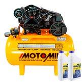 Kit Compressor Air Power MOTOMIL-CMV-15PL/150 15 Pés + 2 Óleos Lubrificantes SCHULZ-0100011-0 1 L