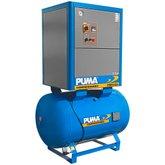 Compressor de Ar Parafuso 12,5CV 8/10/12 Bar 270 Litros 220V