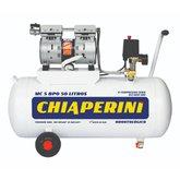 Motocompressor Odontológico 1HP 5 Pés 50 Litros 110V Isento de Óleo