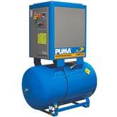 Compressor de Ar Parafuso 10HP 39PCM 270 Litros 220V