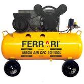 Compressor de Ar Mega Air CFC 10 Pés 100L 2HP 110V