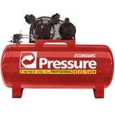 Compressor de Ar Monofásico 10 Pés 150 Litros Economic - PRESSURE-E10/150VM