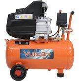 Compressor de Ar 8,0 Pés 25 Litros 2,5HP 160L/m com 2 Saídas  - VULCAN-VC25