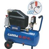 Compressor 25 2HP 24 Litros  com Kit de Pintura - GAMMA-G2801KBR