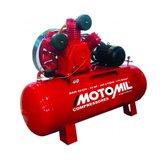 Compressor de Ar Industrial 40 Pés 425 Litros Trifásico 220/380 V - MOTOMIL-MAW-40/425I