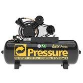Compressor de Ar Ônix 25 Pés 5HP 250 Litros 220/380V Trifásico - PRESSURE-ON-25/250-VT
