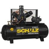 Compressor de Ar de 40 Pés 425 Litros com Motor Aberto 220/380V