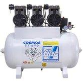Compressor Odontológico Isento de Óleo 3 x 1 CV  - FIAC-COSMOS100