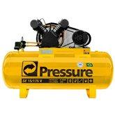 Compressor de Ar Monofásico 15PCM 175 Litros - PRESSURE-SE15/175VM
