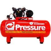 Compressor de Ar Trifásico 10PCM 175 Litros Economic - PRESSURE-E10/175VT
