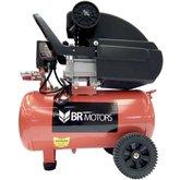 Motocompressor de Ar 2HP 115PSI 24 Litros  com Kit para Pintura - BR MOTORS-RDC-8.8/25-KIT