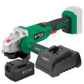 Kit Esmerilhadeira 4.1/2Pol. 18V DWT-6014180800 + Bateria de Íons de Lítio + Carregador de Bateria