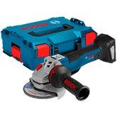 Esmerilhadeira Angular GWS 18V-10PC 18V 5 Pol. sem Bateria e Carregador com Maleta