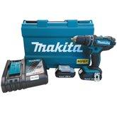 Parafusadeira/Furadeira de Impacto à Bateria 18V com 2 Baterias e Maleta - MAKITA-DHP482RAE-BIVOLT