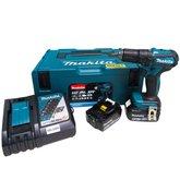 Parafusadeira/Furadeira de Impacto Brushless 1/2 Pol. 2 Baterias 18V Lition 5.0, Maleta Mak-Pac e Carregador Bivolt