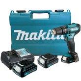 Kit Furadeira/ Parafusadeira de Impacto 12V MAKITA-HP333DWYE + Bateria Max 1.5 Ah BL1016